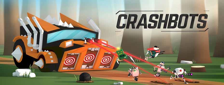 دانلود بازی Crashbots 1.1.1 ربات های نابودگر با سکه بی نهایت