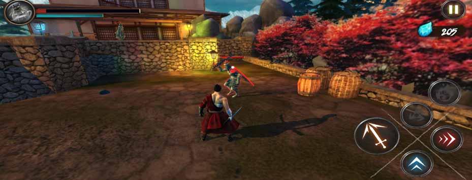 دانلود بازی Takashi Ninja Warrior 2.1.13 مود شده