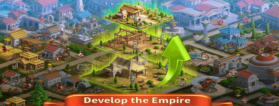 دانلود بازی Rise of the Roman Empire 2.1.2 ظهور امپراطوری روم برای اندروید