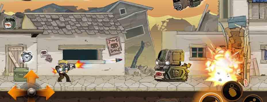 دانلود بازی Metal Soldiers 2 با پول بی نهایت